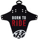 Reverse Born to Ride Spatbord rood/zwart